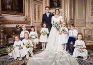 Οι πρώτες επίσημες φωτογραφίες από το γάμο της πριγκίπισσας Ευγενίας