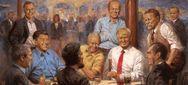 Ο Τραμπ 'κάθεται' στο ίδιο τραπέζι με Λίνκολν, Ρίγκαν και Νίξον (φωτο)