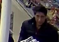 Η αστυνομία αναζητά έναν κλέφτη που μοιάζει εκπληκτικά με τον Ρος από τα 'Φιλαράκια'