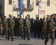 Πάτρα: Οι έφεδροι αξιωματικοί τραγούδησαν το 'Μακεδονία ξακουστή'