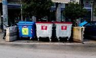 Πάτρα: Τοποθετήθηκαν 2.180 νέοι κάδοι απορριμμάτων