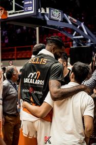 "Promitheas Patras BC vs Beşiktaş JK Basketbol στο στάδιο ""Δημήτρης Τόφαλος"" 31-10-18"