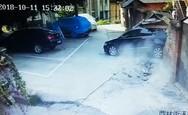 Νέα οδηγός προσπαθεί να παρκάρει και προκαλεί απίστευτη καταστροφή (video)