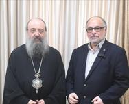 Πάτρα: Τον Σεβασμιότατο κ.κ. Χρυσόστομο επισκέφθηκε ο Νίκος Τζανάκος