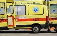 Πάτρα -  Τροχαίο στα Δεμένικα με δύο τραυματίες