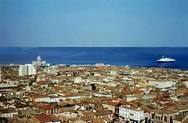 Η πανοραμική πλευρά της Πάτρας το 1960