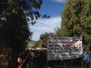 Αχαΐα: Διαδήλωση στην βάση του Αράξου