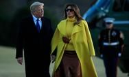 'Πετάει' για Παρίσι το ζεύγος Τραμπ