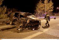 Θεσσαλονίκη: Ένας νεκρός και 19 τραυματίες από την σύγκρουση φορτηγού με νταλίκα (pics+video)