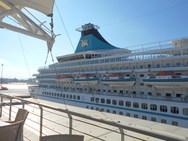 Τι άφησε στην Πάτρα η άφιξη 1.000 και πλέον τουριστών από το κρουαζιερόπλοιο 'Artania' (pics)