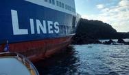 Αποκολλήθηκε το φορτηγό πλοίο «Νέαρχος»