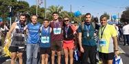 Πατρινοί στο Μαραθώνιο της Αθήνας - Έτρεξαν για τους πληγέντες της εθνικής τραγωδίας (pics)