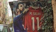 Αίγυπτος: Τοιχογραφία με τον Μέσι να... κρατάει τη φανέλα του Σαλάχ!