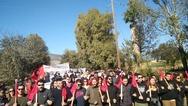 Με παλμό και δυναμικότητα πραγματοποιήθηκε το συλλαλητήριο στη βάση του Αράξου Αχαΐας (φωτο+video)