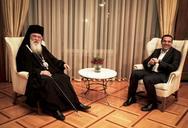 Στους 'μνηστήρες' για την Αρχιεπισκοπή ο Μητροπολίτης Πατρών Χρυσόστομος