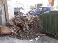 Πάτρα: Σωροί από κομμένα κλαδιά σε όλη την πόλη (pics)