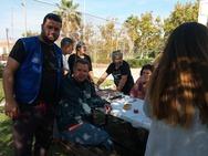 """Οι Γάλλοι εθελοντές έκαναν το Κέντρο Φιλοξενίας της Μυρσίνης """"παράδεισο"""" (pics)"""