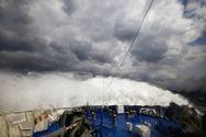 Η «μάχη» του «Άρτεμις» με τους θυελλώδεις ανέμους (video)