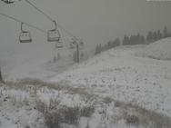 Τα πρώτα χιόνια έπεσαν στον Χελμό (pics)