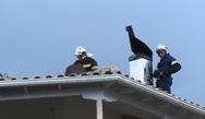 Πάτρα: Πήραν φωτιά καμινάδες σπιτιών