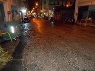Πάτρα: 'Βροχή' οι μολότοφ από τους αναρχικούς μετά το τέλος της πορείας!