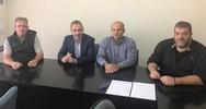Πάτρα: Ο Ανδρέας Κατσανιώτης επισκέφθηκε το Παράρτημα Πελοποννήσου