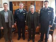 Ο Κώστας Σπαρτινός επισκέφθηκε το Αστυνομικό Μέγαρο Πατρών