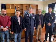 Πάτρα: Eπίσκεψη του Διοικητικού Συμβουλίου του Εμπορικού και Εισαγωγικού Συλλόγου στη Γενική Περιφερειακή Αστυνομική Διεύθυνση