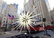 Το αστέρι στο χριστουγεννιάτικο δέντρο του Rockefeller Center που εντυπωσίασε (φωτο)