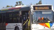 Θεσσαλονίκη: Επίθεση με πέτρες σε λεωφορείο