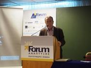 Πάτρα: Ο Xρήστος Πατούχας της Ανυπότακτης Πολιτείας στο 21ο Forum Ανάπτυξης