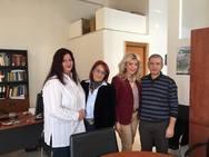 Πάτρα: Συνάντηση Έλενας Κονιδάρη με το Δ.Σ. της Ένωσης Νοσηλευτών Ελλάδας