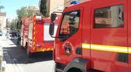 Ξέσπασε φωτιά σε διαμέρισμα στην Καλαμαριά