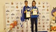 Χρυσά μετάλλια για Νικολάου και Σαρβανάκη στο Ευρωπαϊκό πρωτάθλημα παίδων/κορασίδων