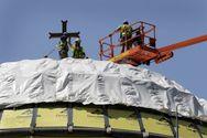 Αρχίζουν οι εργασίες για την ανοικοδόμηση του Ιερού ναού του Αγ. Νικολάου