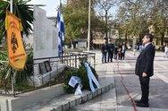 Πάτρα: Η Δημοτική Αρχή τίμησε τους εκτελεσθέντες στο μπλόκο των Προσφυγικών (pics)