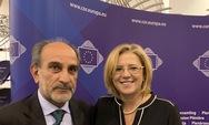 Συνάντηση του Απόστολου Κατσιφάρα με την Ευρωπαία Επίτροπο Κορίνα Κρέτσου