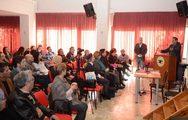 Κ. Πελετίδης: 'Εμπόδιo στο έργο μας αποτελεί η κρατική υποχρηματοδότηση' (pics)