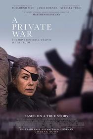 Προβολή Ταινίας 'A Private War' στην Odeon Entertainment