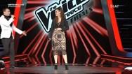 The Voice: Παίκτρια ξέχασε τα λόγια της (video)