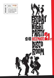 Night Party at Disco Room