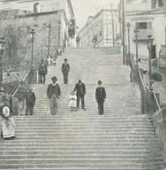 Οι πρώτες σκάλες της Πάτρας, που ένωναν την Άνω με την Κάτω πόλη, κατασκευάστηκαν το 1873!