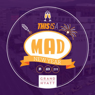 'This is a... MAD New Year' at Grand Hyatt Athens