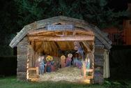 Πάτρα: Έτοιμη και φέτος η Χριστουγεννιάτικη Φάτνη στα Κρύα Ιτεών (φωτο)