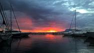 Οι ξεχωριστές αποχρώσεις του ήλιου στην Πάτρα (pics)