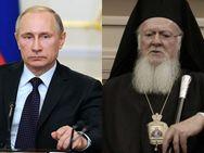 Πούτιν κατά Βαρθολομαίου: 'Έδωσε αυτοκέφαλο στην Ουκρανία για χρήματα'