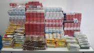 Τρεις συλλήψεις για λαθραία καπνικά προϊόντα