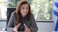 Ντ. Μπακογιάννη: 'Οι σχέσεις καλής γειτονίας βασίζονται στο σεβασμό του διεθνούς δικαίου'