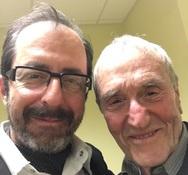 Ο Πατρινός Ανδρέας Ανδριόπουλος συνάντησε τον 92χρονο 'έφηβο' Γιάννη Βογιατζή!