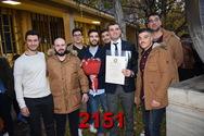 Ορκωμοσία Σχολής Διοίκησης Επιχειρήσεων 21/12/2018 16:30 μ.μ. Part 24/25